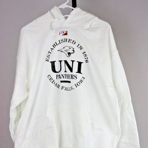 Other - Northern Iowa Panthers Hooded Sweatshirt (White)